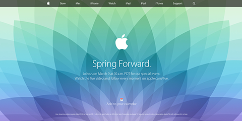 Apple - Apple Events - Special Event March 2015