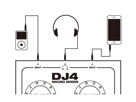 サウンドミキサー DJ4