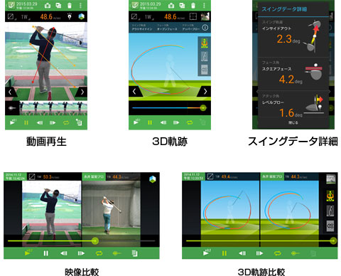 ゴルフスイング改善ツール Plane Analyzer Plus
