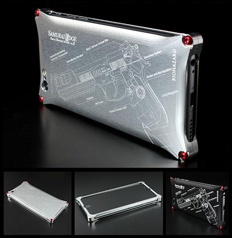 BIOHAZARD Limited Solid for iPhone 6 SAMURAI EDGE Barry Burton MODEL Ver.Ⅱ
