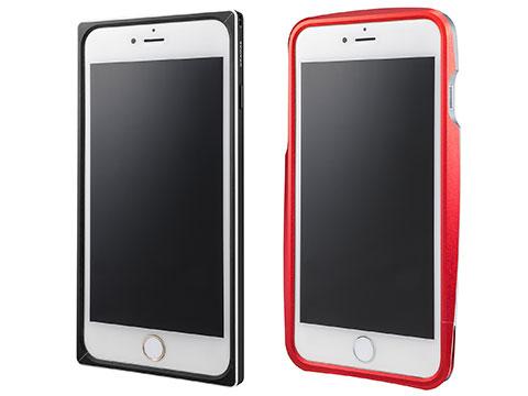 GRAMAS Straight/Round Metal Bumper for iPhone 6 Plus