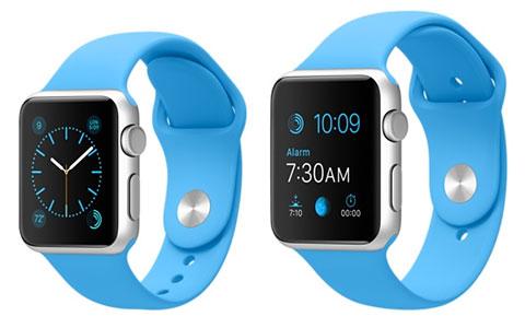 2サイズのApple Watch