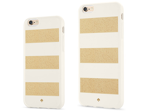 kate spade new york for iPhone 6/6 Plus Jubilee Stripe Gold