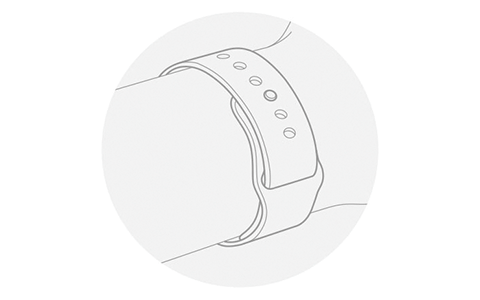 Apple Watchのバンドの装着方法