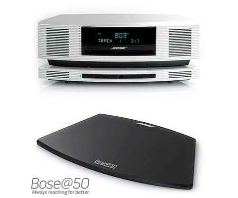 Wave SoundTouch music system system High-Gloss Pearl (Bose 50th anniversary edition)