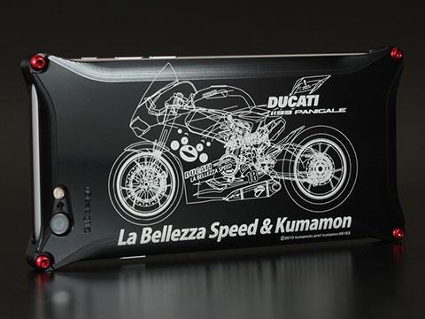 くまモン×ラ・ベレッツァ×GILDdesignコラボケース iPhone 6/6 Plus バイクモデル