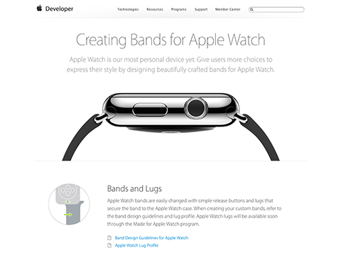 Creating Bands for Apple Watch - Apple Developer