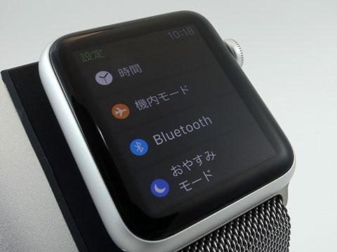 Apple Watchの画面
