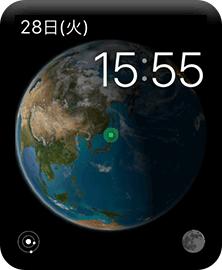 Apple Watchのアストロノミー文字盤