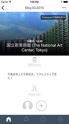FourDiary - 4次元ライフログ