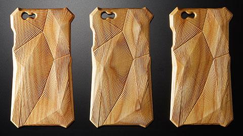Enhanced Acoustic Wooden Case for iPhone 6 -Hibiki-
