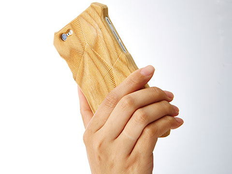 Enhanced Acoustic Wooden Case for iPhone 6 -Hibiki-