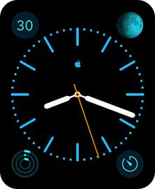 Apple Watchのモノグラムのカスタマイズ