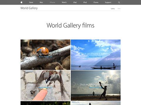 Apple - iPhone 6 - World Gallery films