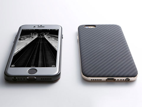 Hybrid Case UNIO for iPhone 6/6 Plus Kevler