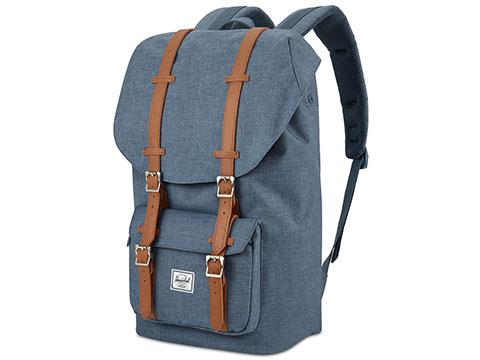 Herschel Supply Co. Little America Backpack - Navy Crosshatch/Tan