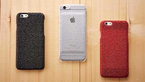 Simplism iPhone 6 次元シリーズ 3Dテクスチャー カードポケットケース
