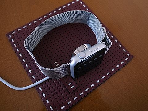 Apple Watch 自作充電パッド