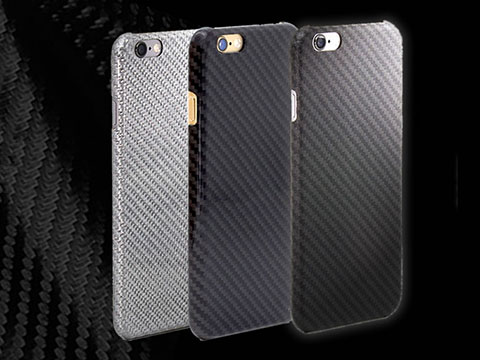 monCarbone HoverKoat iPhone 6 Case/iPhone 6 Plus Case ミッドナイトブラック