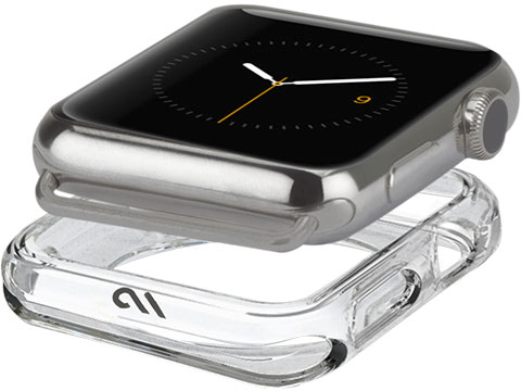 Case-Mate Apple Watch Naked Tough Bumper Case, Clear