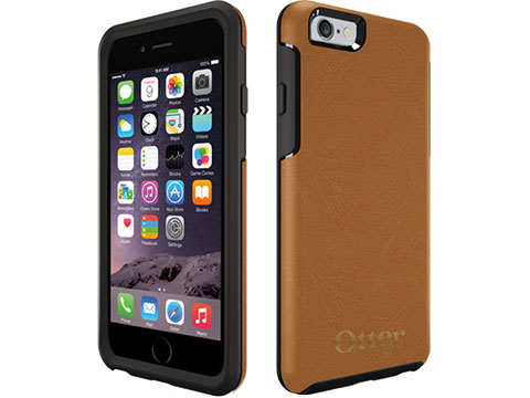 OtterBox Symmetry シリーズ Leather Edition for iPhone 6/6 Plus