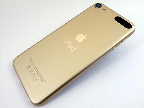 第6世代iPod touchゴールドモデル