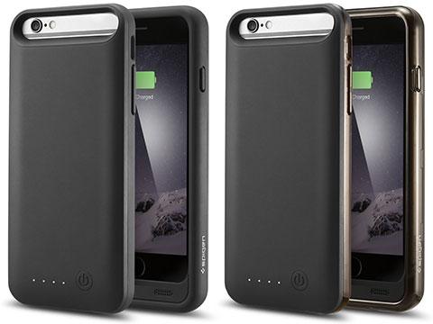 Spigen iPhone 6 バッテリーケース ボルトパック