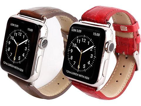 Gaze クロコシリーズ Apple Watchバンド