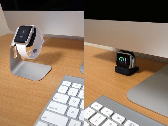 iMacの前・下に置いたところ