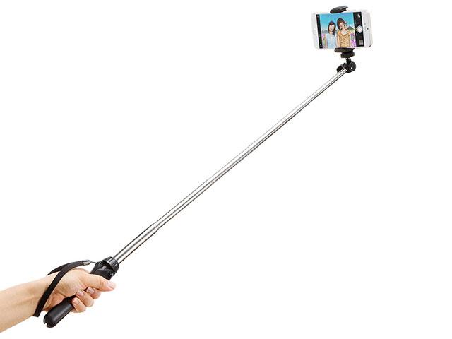 200-DGCAM003を伸ばして、自撮り棒として使う