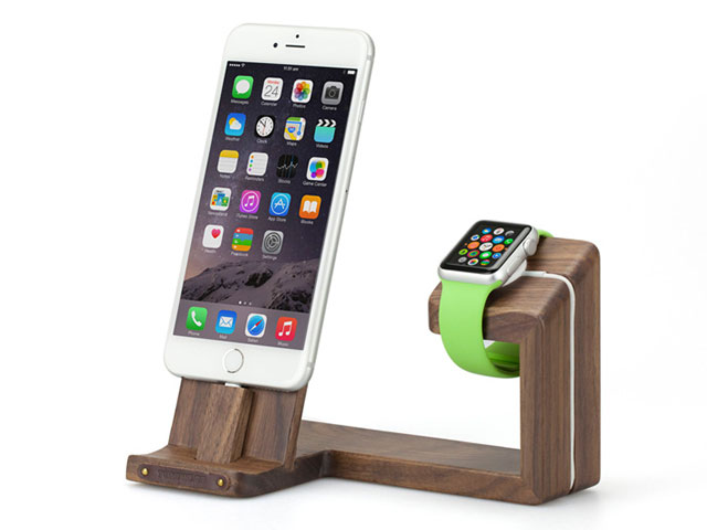 TUNEWEAR TREE for Apple Watch / iPhone / iPad mini ブラックウォールナット