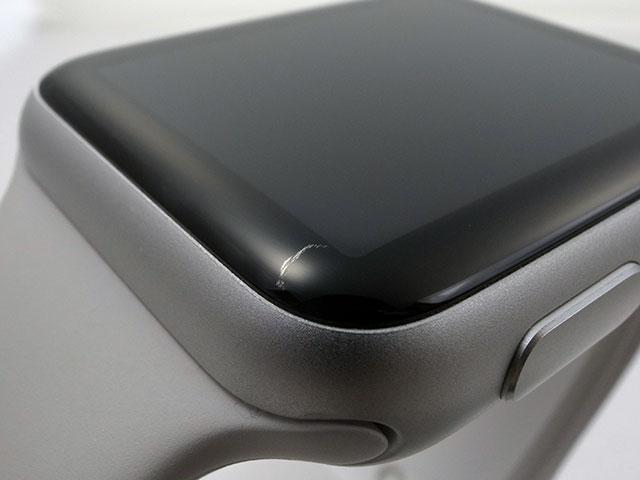 Apple Watch Sportの傷