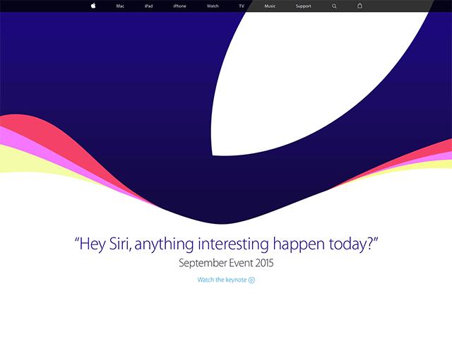 発表後のトップページ