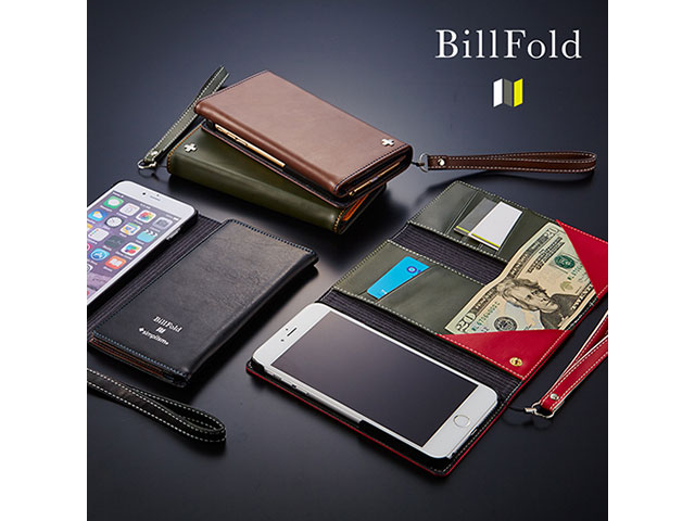 [BillFold] フリップノートカードケース