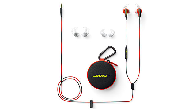 Bose SoundSport in-ear headphones パワーレッド