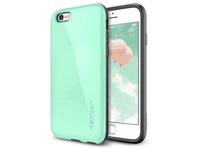 Spigen iPhone 6/6sケース カペラ(ミント)