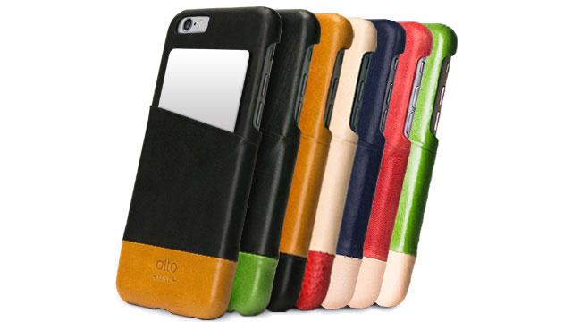 alto社のiPhone 6s/6s Plus対応ケース