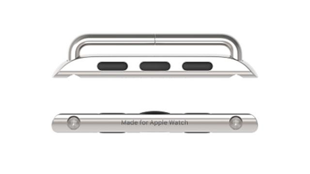 「Made for Apple Watch」レーザー刻印入りラグ