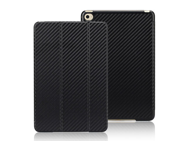TUNEWEAR CarbonLook SHELL with Front cover for iPad mini 4