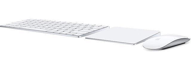 Magic Keyboard、Magic Mouse 2、Magic Trackpad 2