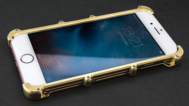 iPhone 6&6s用プロテクターケース「brass」