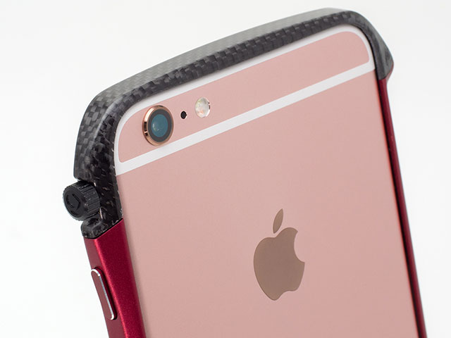 "Deff CLEAVE Carbon & Aluminum Bumper ""Hybrid"" for iPhone 6s/6s Plus"