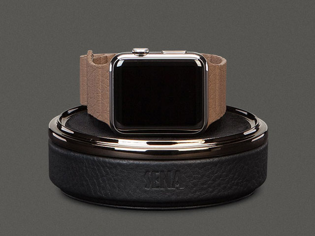 Leather Watch Travel Case for Apple Watc