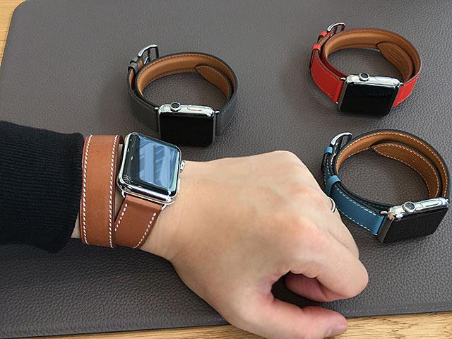 Apple Watchの試着