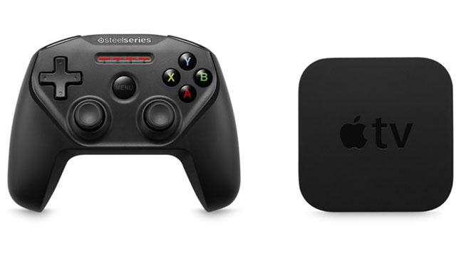 Apple TVとコントローラー