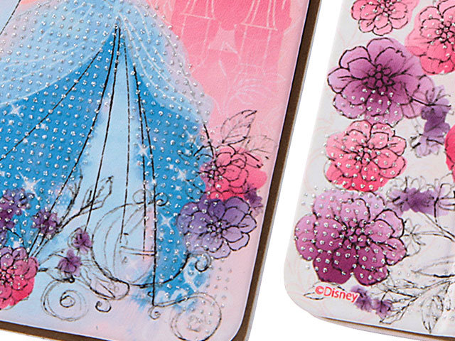 RT-DP9O iPhone 6/6s プリンセス・グロッシーブックレザーケース(合皮)