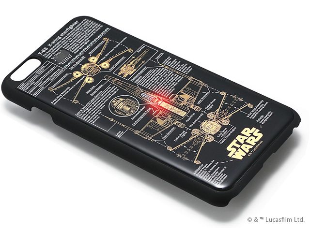 moeco FLASH STAR WARS 基板アートiPhone 6/6sケース