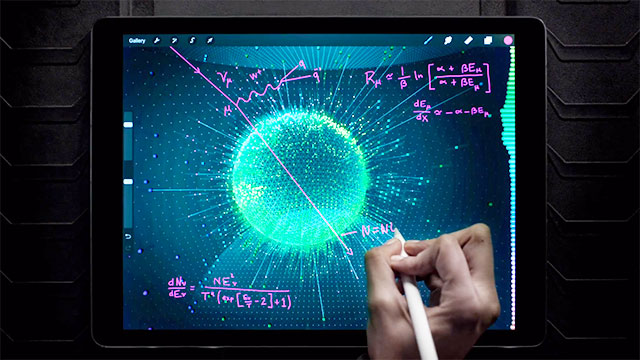iPad Pro - A Great Big Universe