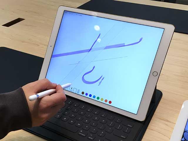 iPad Proでのミュージック再生