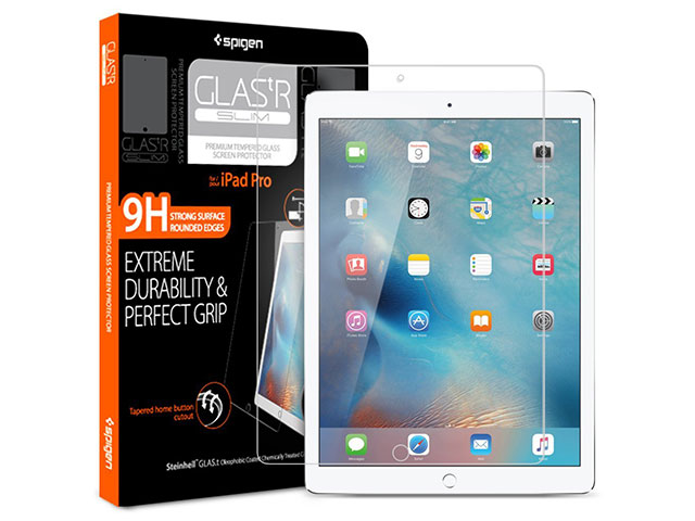 Spigen GLAS.t R Slim for iPad Pro